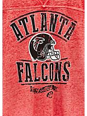 NFL Atlanta Falcons Football Tee - Vintage Red, JESTER RED, alternate