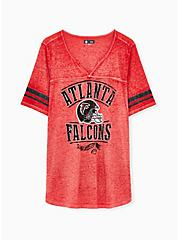 NFL Atlanta Falcons Football Tee - Vintage Red, JESTER RED, hi-res