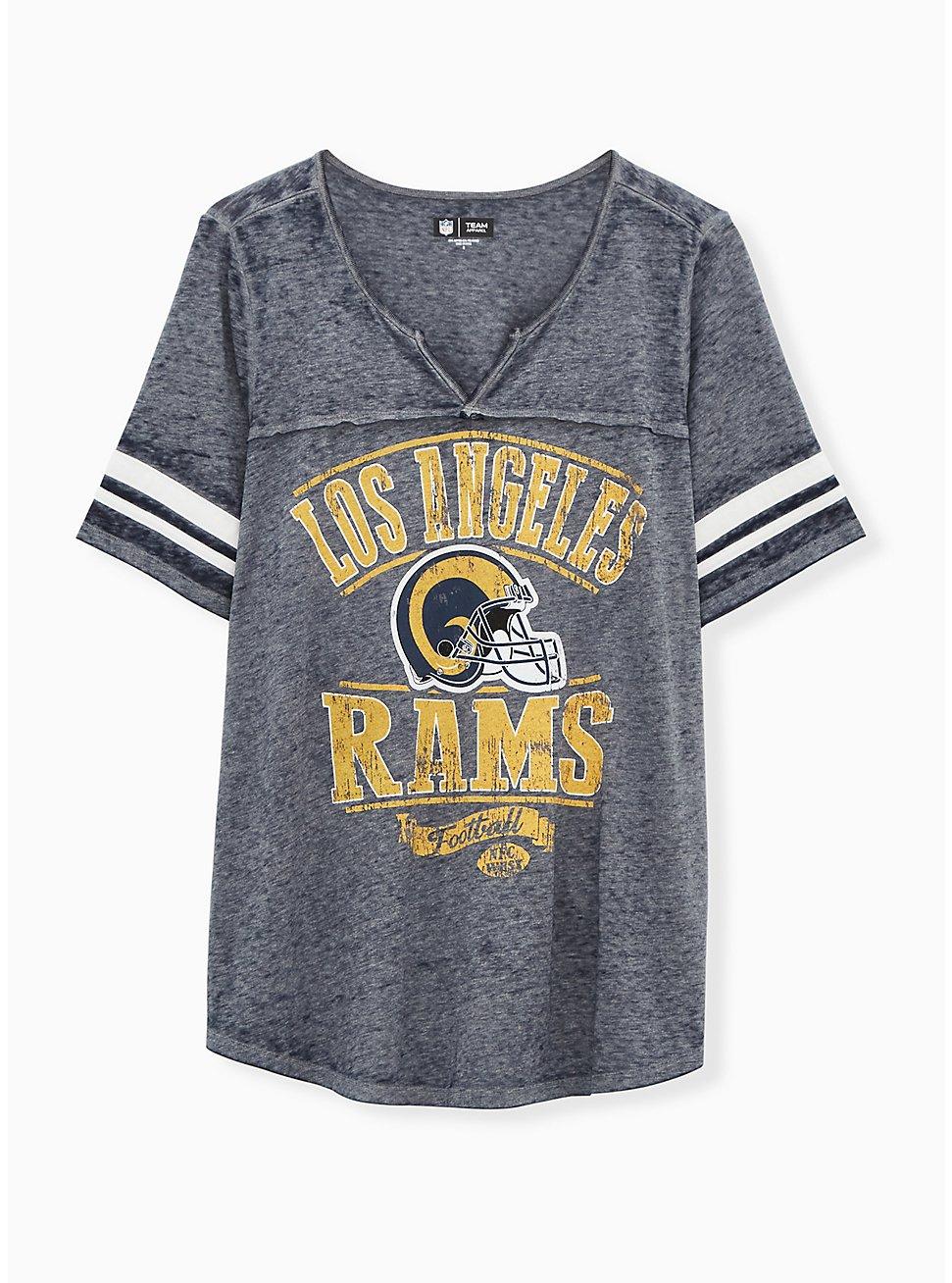 NFL Los Angeles Rams Football Tee - Vintage Navy, PEACOAT, hi-res
