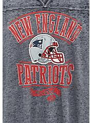 NFL New England Patriots Football Tee - Vintage Navy , PEACOAT, alternate