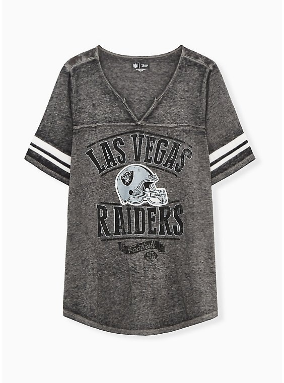 NFL Las Vegas Raiders Football Tee - Vintage Black, , hi-res