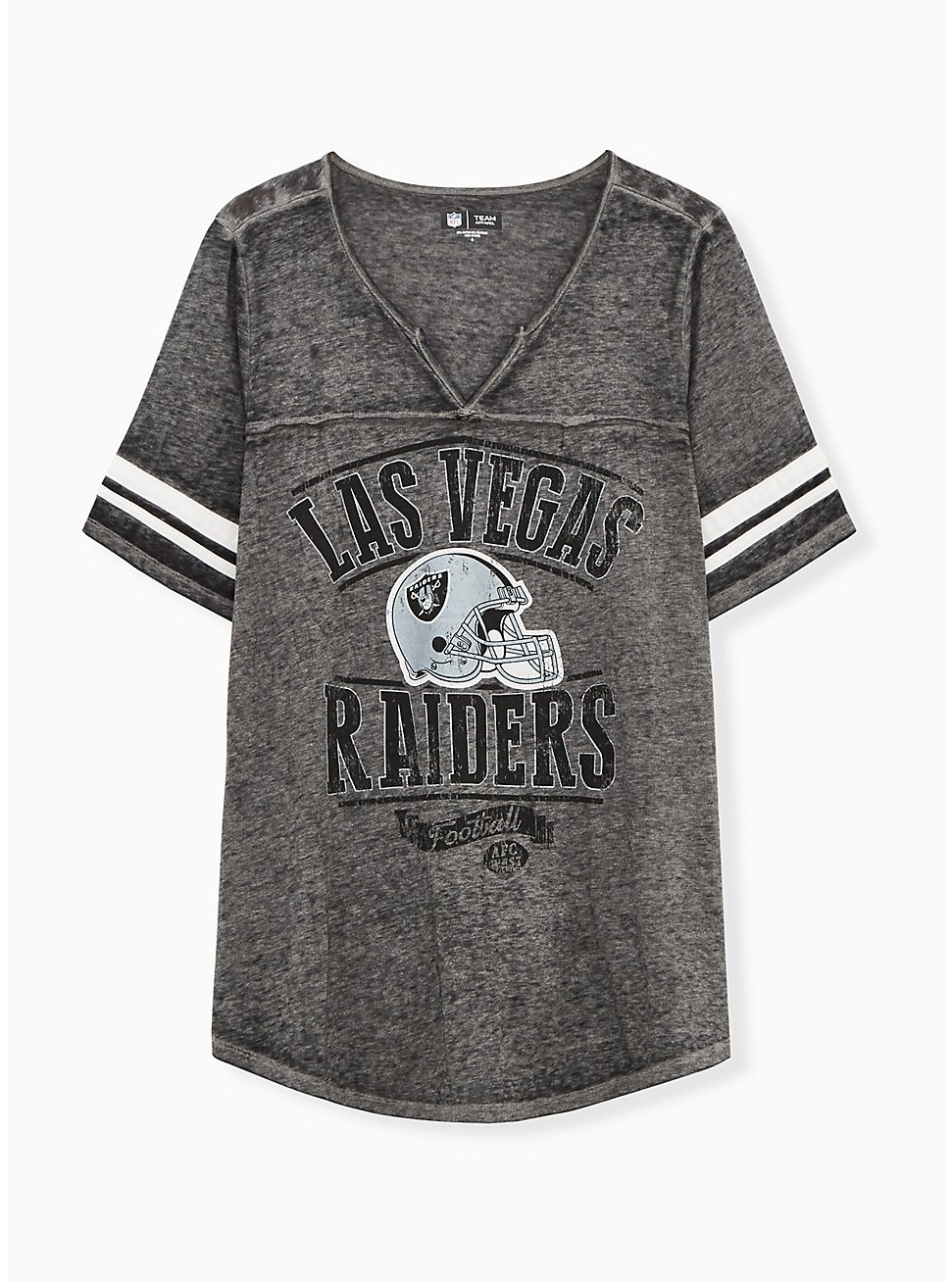 NFL Las Vegas Raiders Football Tee - Vintage Black, DEEP BLACK, hi-res