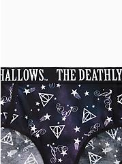 Harry Potter Deathly Hallows Black Cotton Hipster Panty, MULTI, alternate
