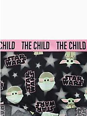 Star Wars The Mandalorian The Child Black & Pink Cotton Boyshort Panty, MULTI, alternate