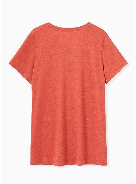 Pumpkin Spice Vibes Slim Fit Crew Tee - Triblend Jersey Orange, , alternate