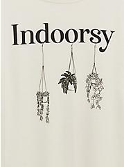 Indoorsy Crew Tee - Ivory, IVORY, alternate