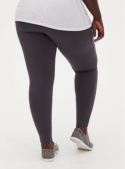 Plus Size Premium Legging - Dark Slate Grey, GREY, alternate