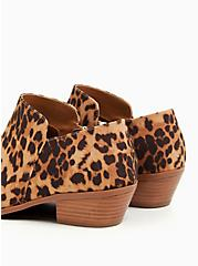Leopard Faux Suede Ankle Bootie (WW), ANIMAL, alternate