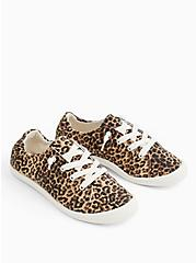 Riley - Leopard Ruched Sneaker (WW), ANIMAL, alternate