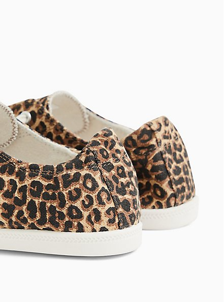 Riley - Leopard Ruched Sneaker (WW), ANIMAL, alternate