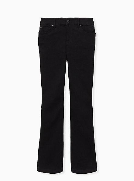 Bombshell Flare Jean - Premium Stretch Black , BLACK, hi-res