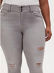 Jegging - Super Soft Light Grey Wash , MARINE LAYER, alternate