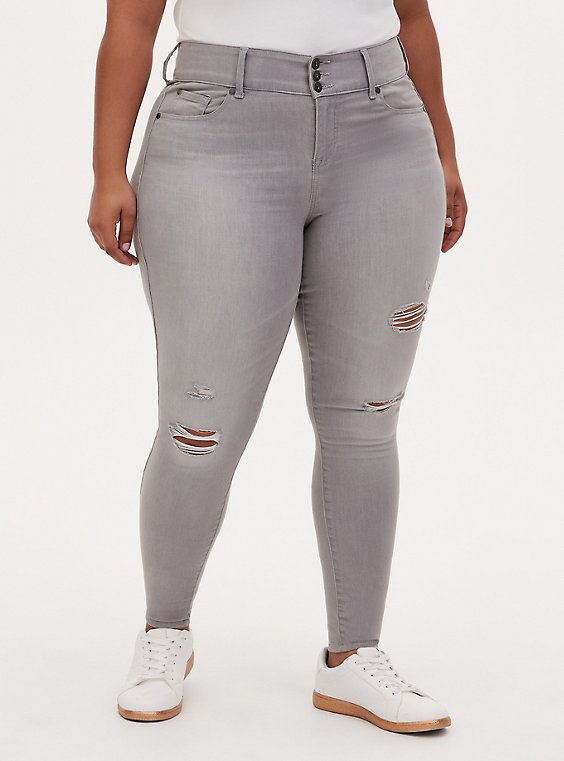 Jegging - Super Soft Light Grey Wash , MARINE LAYER, hi-res