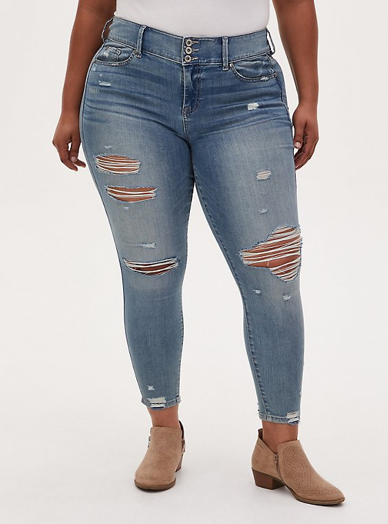 Plus Size Jegging - Super Soft Light Wash , MONDAY BLUES, hi-res