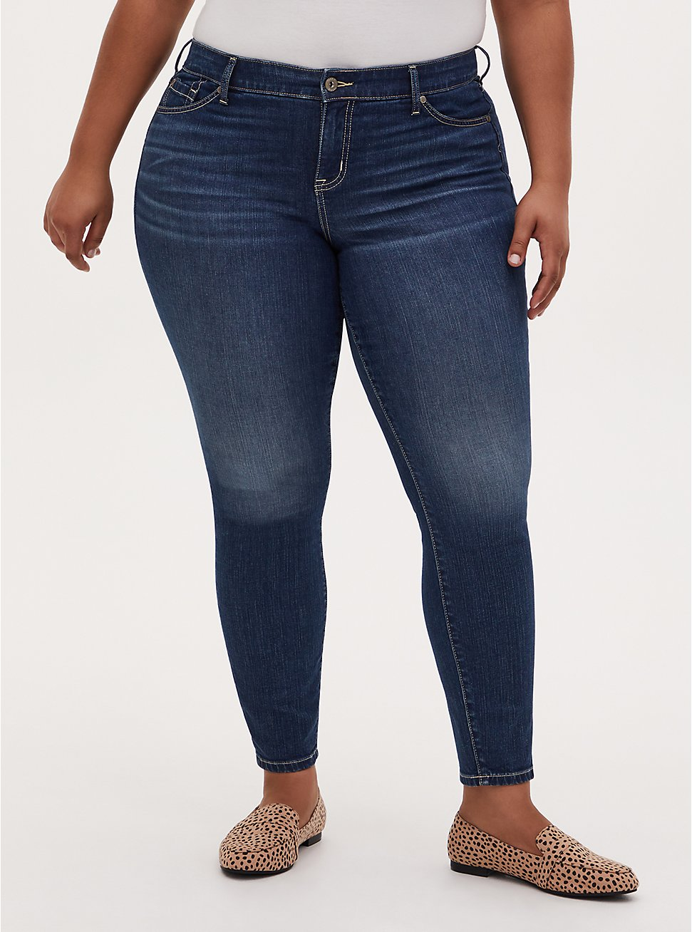 Mid Rise Skinny Jean - Vintage Stretch Medium Wash , BACK COUNTRY, hi-res