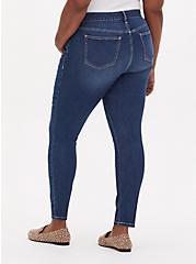 Mid Rise Skinny Jean - Vintage Stretch Medium Wash , , fitModel1-alternate