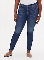 Mid Rise Skinny Jean - Vintage Stretch Medium Wash , , fitModel1-hires