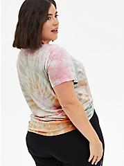 Real Queens Classic Fit Crew Tee - Heritage Slub Tie-Dye Multi, MULTI, alternate