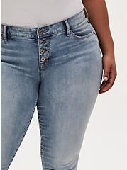Mid Rise Skinny Jean - Vintage Stretch Light Wash , DREAM ON, alternate