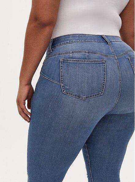 Bombshell Skinny Jean - Premium Stretch Light Wash, PLAYA VISTA, alternate