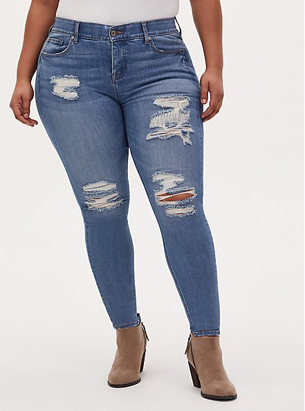 Bombshell Skinny Jean - Premium Stretch Light Wash, PLAYA VISTA, hi-res
