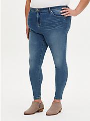 Luxe Super Skinny Jean - Super Soft Eco Medium Wash, SEAFLOOR, hi-res