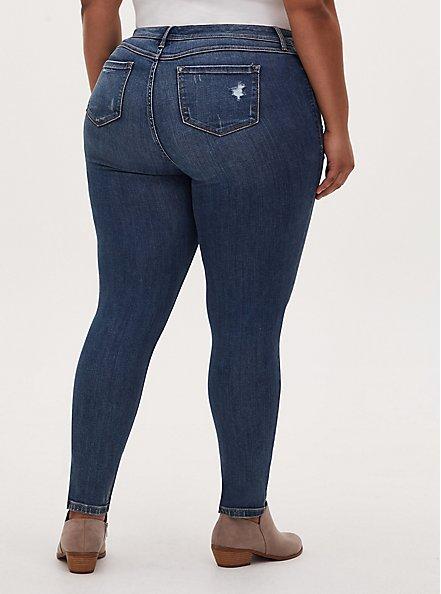 Luxe Skinny Jean - Super Soft Medium Wash, MESA, alternate