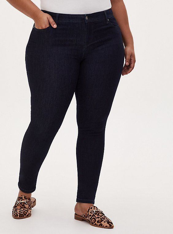 Luxe Skinny Jean - Super Soft Dark Wash, OZONE, hi-res