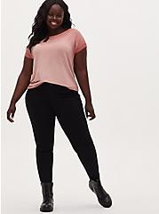 Mid Rise Skinny Jean – Super Soft Black, BLACK, alternate