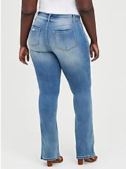 Luxe Slim Boot Jean - Super Stretch Light Wash, , fitModel1-alternate