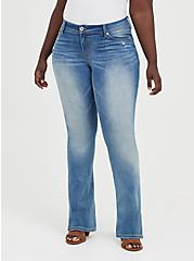 Luxe Slim Boot Jean - Super Stretch Light Wash, , fitModel1-hires