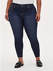 Bombshell Skinny Jean - Premium Stretch Medium Wash, ENGLISH CHANNEL, hi-res