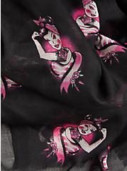 Breast Cancer Awareness - So Strong Scarf Black, , alternate
