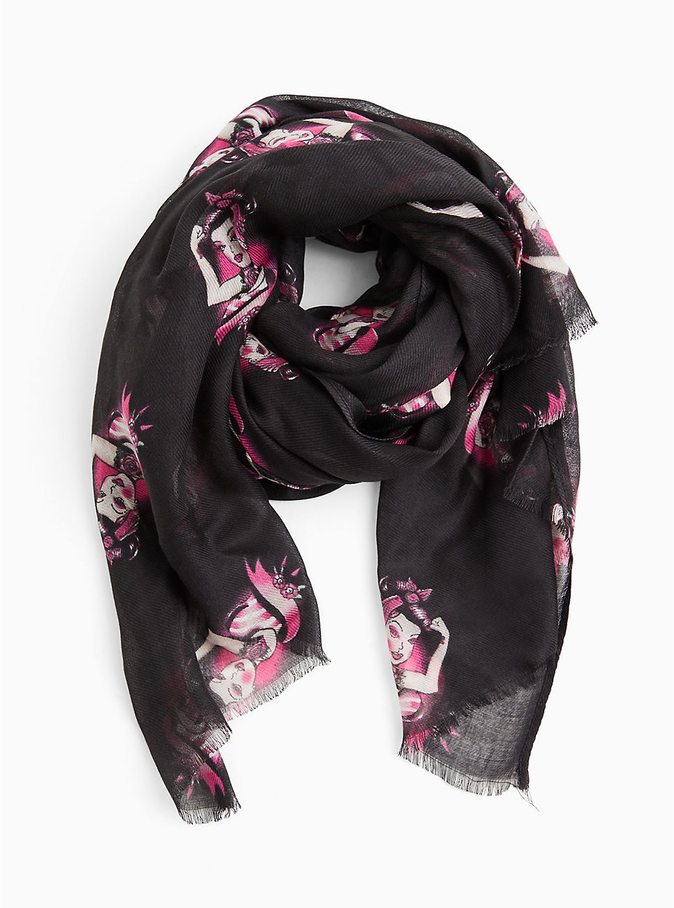 Breast Cancer Awareness - So Strong Scarf Black, , hi-res