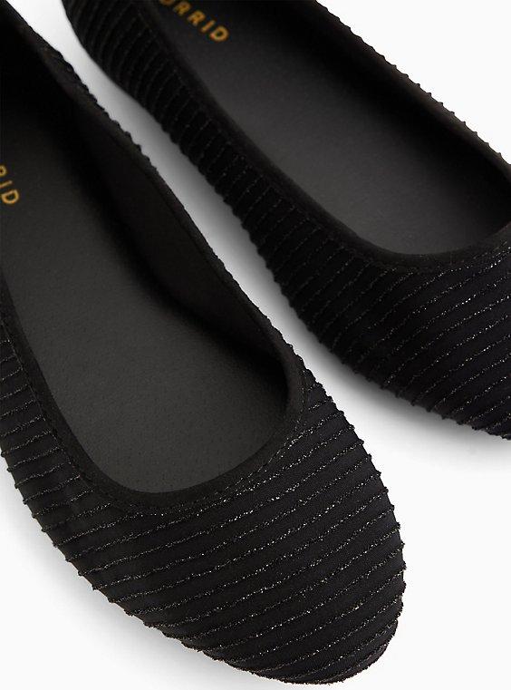 Black Shimmer Flat (WW), , hi-res