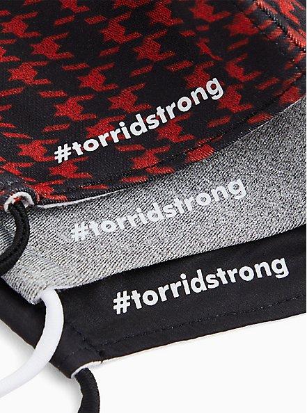 #TorridStrong Non-Medical Reusable Masks - Pack of 3, , alternate