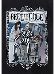 Beetlejuice Classic Fit Crew Tee - Mineral Wash Black, DEEP BLACK, alternate