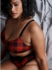 Red Buffalo Plaid 360° Back Smoothing™ Lightly Lined Everyday Wire-Free Bra, SPLAT PLAID, hi-res