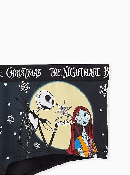Disney The Nightmare Before Christmas Black Cotton Boy Short Panty, MULTI, alternate
