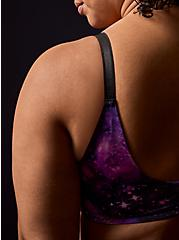 Purple Galaxy Front Clasp 360° Back Smoothing™ Lightly Lined T-Shirt Bra, MYSTIC GALAXY GREEN, alternate