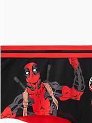 Deadpool Black & Red Cotton Boy Short Panty, MULTI, alternate