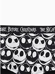 Disney The Nightmare Before Christmas Black & White Cotton Boy Short Panty, MULTI, alternate
