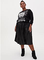 Plus Size Disney The Aristocats Marie Black Ugly Sweater, MULTI, alternate