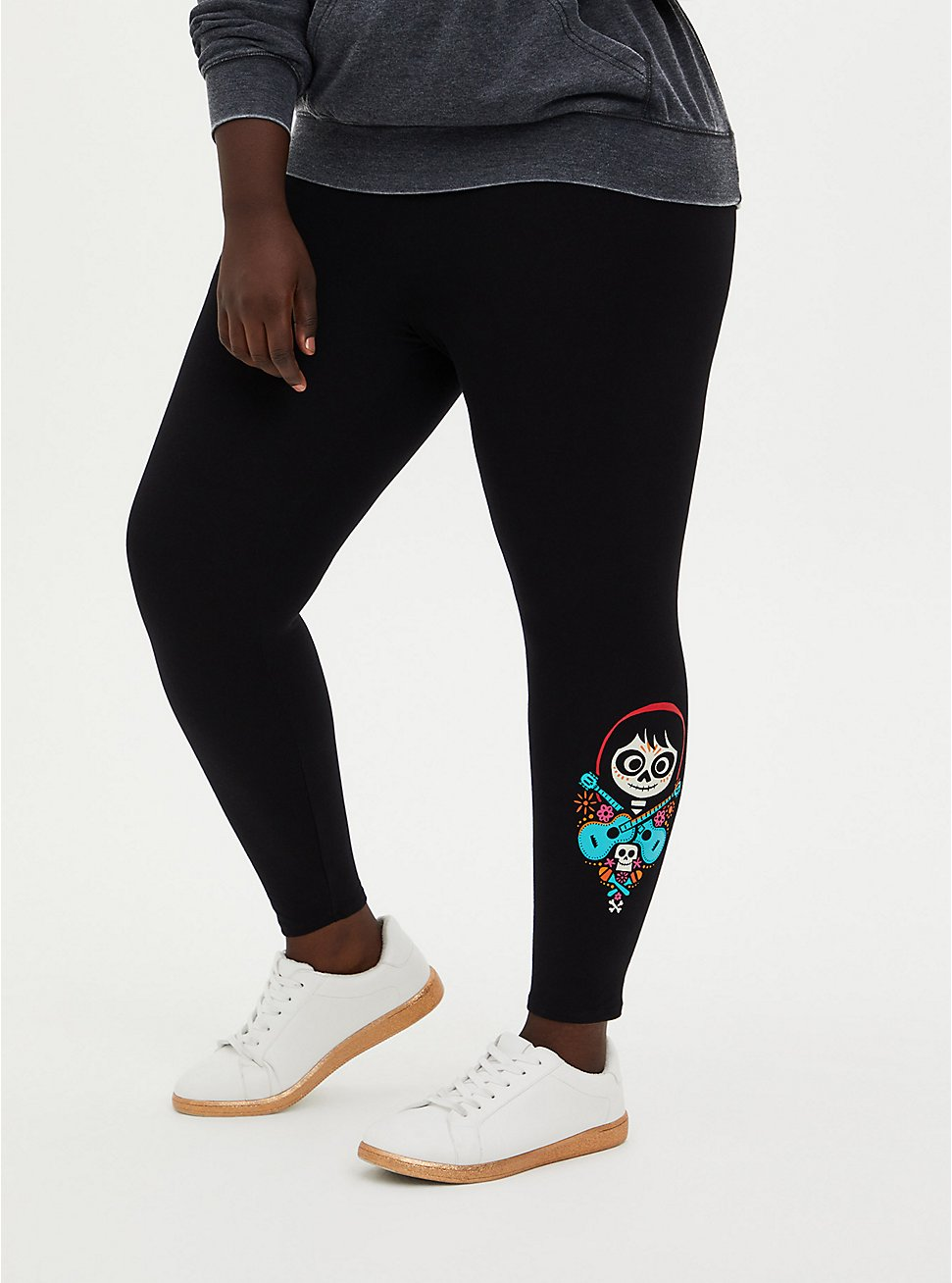Disney Coco Guitar Black Crop Legging, DEEP BLACK, hi-res
