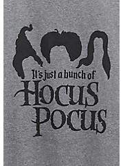 Hocus Pocus Slim Fit Raglan Tee - Heather Grey, NINE IRON, alternate