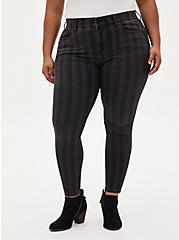 Bombshell Skinny Jean - Super Soft Black Stripe, BLACK STRIPE, hi-res