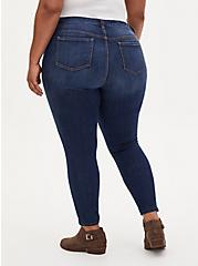 Plus Size Mid Rise Skinny Jean - Vintage Stretch Medium Wash, UNDERCOVER, alternate