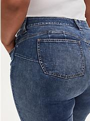 Bombshell Skinny Jean - Premium Stretch Medium Wash, MELROSE, alternate
