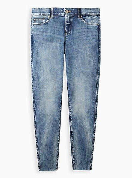 Bombshell Skinny Jean - Premium Stretch Medium Wash, MELROSE, hi-res