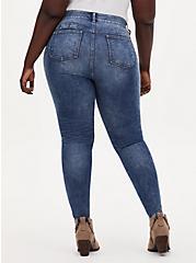 Bombshell Skinny Jean - Premium Stretch Medium Wash, , fitModel1-alternate